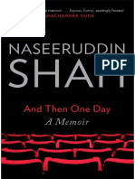 265616377 and Then One Day a Memoir by Naseeruddin Shah