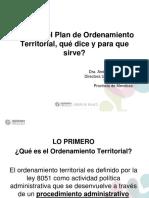 Capacitacion Plan Provincial Ordenamiento Territorial