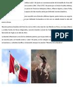 El Día de la Bandera Peruana se celebra cada 7 de junio en conmemoración de la batalla de Arica del 7 de junio de 1880.docx