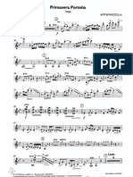 Primavera Portena Violin Part
