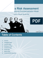 Business Risk Assessment PDF