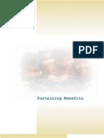 Sustaining Benefits