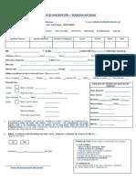 Ficha de Inscripción PN