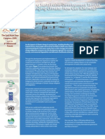 Achieving Sustainable Development Targets in a Changing Climate