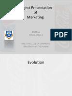Coke vs Pepsi Project assignment presentation