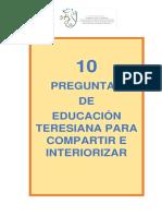 Preguntas Teresianas PDF