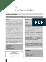 Evaluacion de Costos Para Hemodialisis
