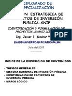 Proyectos PIP SNIP