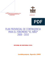 Plan de Contigencia - Lambayeque