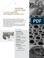 Magnetic Powder Cores