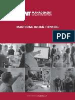 Mastering Design Thinking Brochure 27 Apr 18 V21 Final