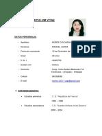 Curriculum Vitae 2018 Raquel Derecho 2