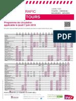 Tours-Nevers  le jeudi 7 juin