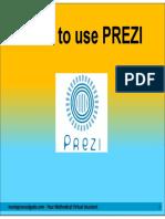 How to Use PREZI
