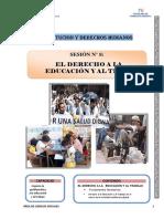 Módulo- Derecho a La Educación y Al Trabajo