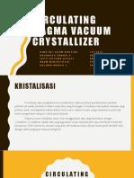 Circulating Magma Vacuum Crystallizer