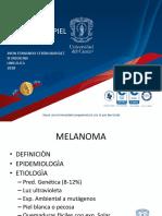 Melanoma y No Melanòmicos
