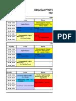 Cronograma de Evaluaciones 2018 A