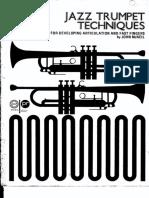 John McNeil - Jazz Trumpet Techniques