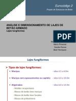 PPT Sobre Lajes - Lajes Fungiformes