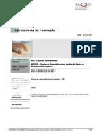 481228 Tcnicoa Especialista Em Gesto de Redes e Sistemas Informticos ReferencialEFA