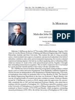 Malcom Jhon Mcperson Biografia Subsurface Mine Ventilation Services