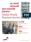 Pwc Entrepreneur Up Close and Professional the Family Factor