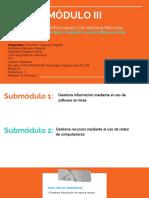 """Presentación """"Gestiona Información Mediante Software en Línea"""""""