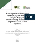 Manual Bioinsumos - Para la Agricultura Urbana y Perirurbana de Sucre, Bolivia