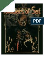 Jünger Des Set - Clanbuch - Englisch