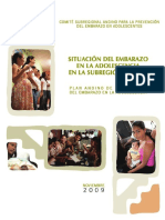 Libro Diagnostico Del Embarazo Adolescentes 2009