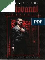 Vampire - Die Maskerade - FS4109 - Clanbuch Giovanni (2te Ed. Deutsch)