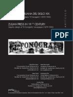 La Prensa Zuliana Siglo XIX El Diseño Gráfico de El Fonógrafo (1879-1900)