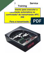 Procedimento de Calibraçao APC200