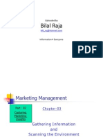 Gathering Information and Scanning Environment(Marketing Management)