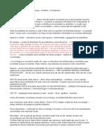Conceitos Essenciais Da Sociologia – Giddens – Fichamento