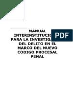 INTERVENCION CONFORME AL NUEVO CODIGO PROCESAL PENAL