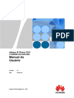 Telefone Novo Manual 7910