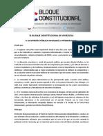 Bloque Constitucional agradece la OEA remisión a la CPI de casos de crímenes de lesa humanidad en Venezuela