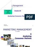 CH 06 Analyzing Consumer Markets