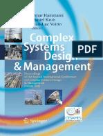 [Omar_Hammami,_Daniel_Krob,_Jean-Luc_Voirin] - Complex Systems Design & Management 2011