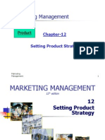 CH 12 Setting Product Strategy