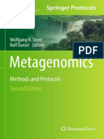 Wolfgang R. Streit, Rolf Daniel Eds. Metagenomics Methods and Protocols