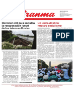 Diario Granma. 6 de junio de 2018.