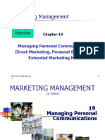 CH 19 Managing Personal Communications