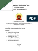 Trabajo Doctorado Sistemas Integrados de Gestión