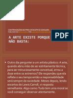 Aula 01-A Arte Existe Porque a Vida Não Basta