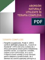 4. Abordări Naturale Utilizate În Terapia Complexă