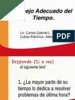 1.Manejo Adecuado Del Tiempo.