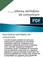 3. Dezvoltarea abilităților de comunicare   LUNI.ppt